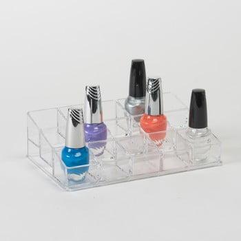 Suport compartimentat pentru 15 oje Compactor Nails de la Compactor