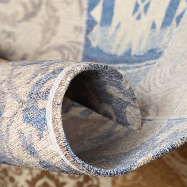 Koberec Webtappeti Modern Kilim Blue Desert, 133x190cm