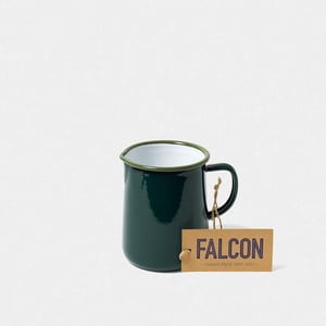 Tmavě zelený smaltovaný džbán Falcon Enamelware OnePint, 586 ml
