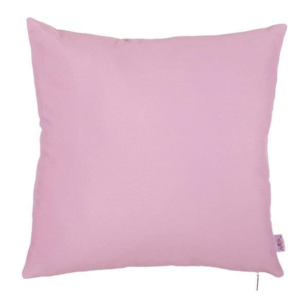 Różowa poszewka na poduszkę Apolena Simple Pink, 41x41cm