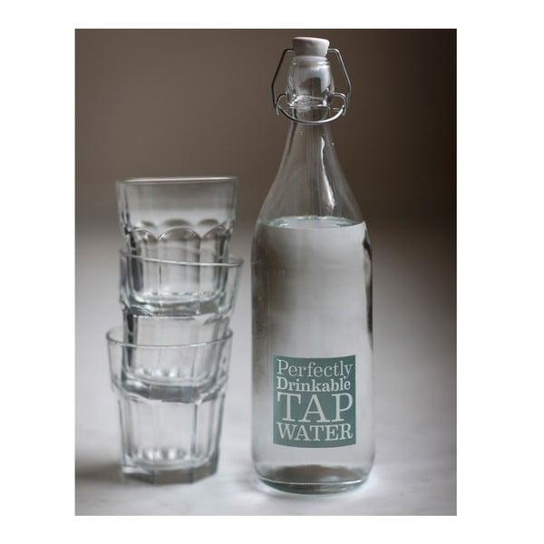Skleněná lahev Tap Water