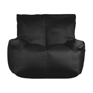 Černý sedací vak pro dva Sit and Chill Coron