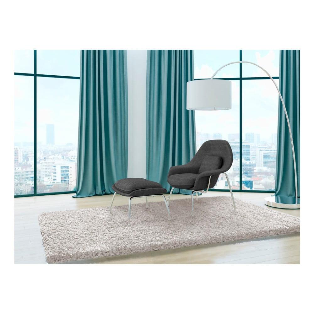 Produktové foto Bílý koberec Universal Floki Liso, 290 x 200 cm