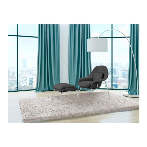 Krémově bílý koberec Universal Liso, 140x200cm