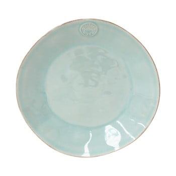 Farfurie din gresie ceramică Costa Nova Blue, ⌀ 27 cm, turcoaz imagine