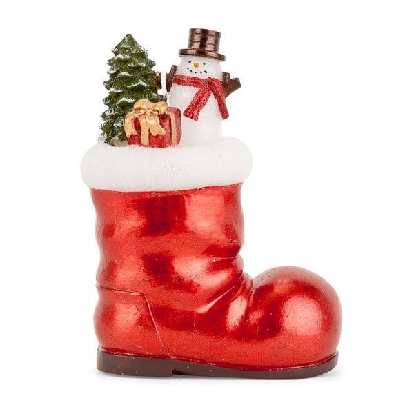 Dekorativní bota s dárky Santa