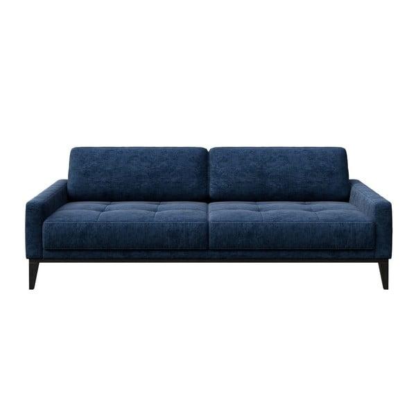 Modrá třímístná pohovka MESONICA Musso Tufted