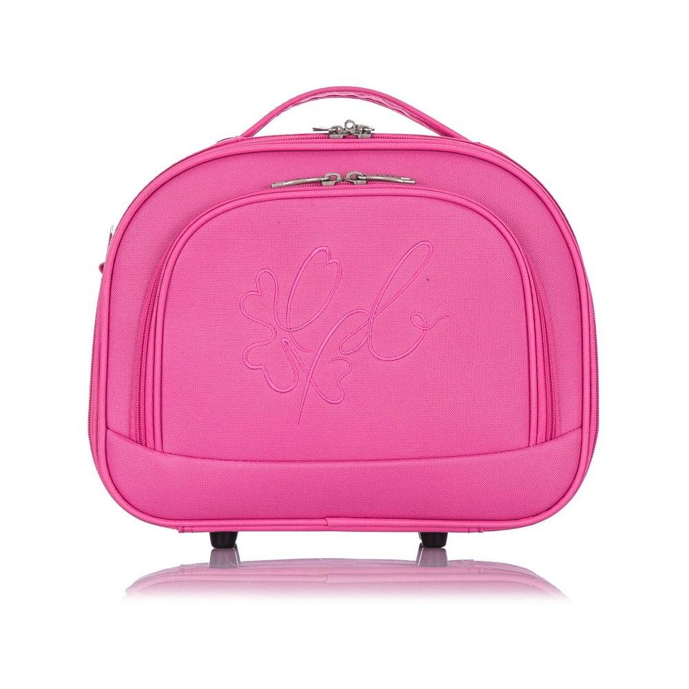 78c082f35c14e Růžové příruční zavazadlo Les Ptites Bombes