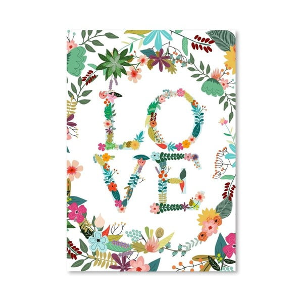 Plakát od Mia Charro -  Love
