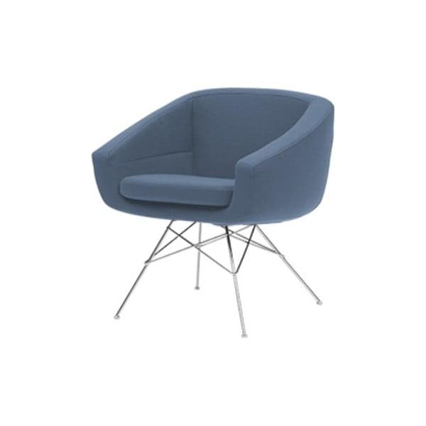Niebieski fotel Softline Aiko Vision Blue