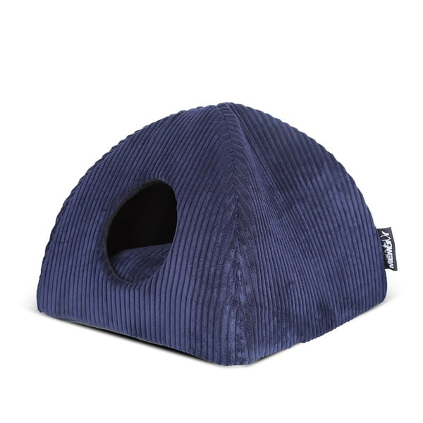 Kočičí pelíšek Milan Igloo, tmavě modrý