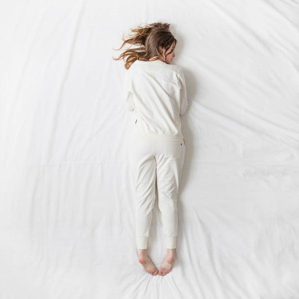 Dámské bílé kalhoty Snurk Uni, vel. L