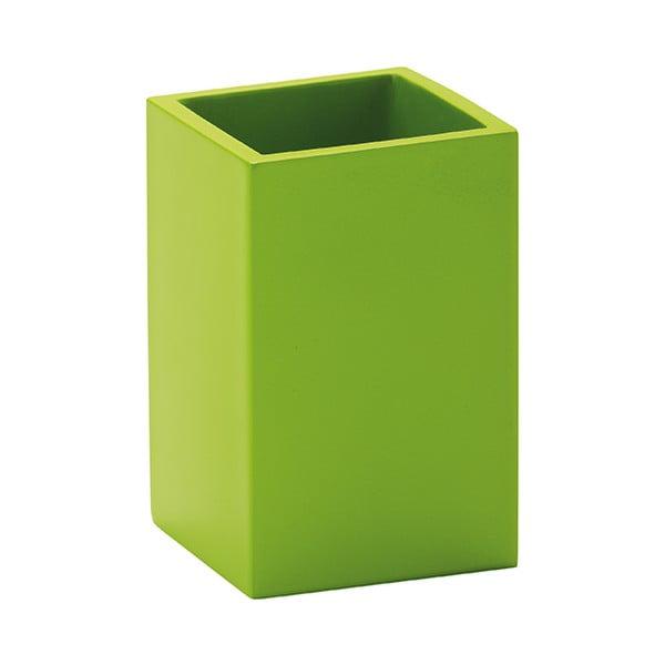 Dóza na zubní kartáčky Taco, zelená