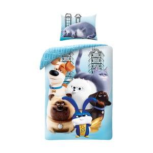 Dětské bavlněné povlečení Halantex The Secret Life of Pets 2 Friends, 140 x 200 cm