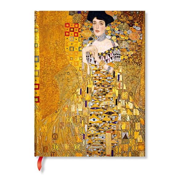 Agendă Paperblanks Klimt´s Portrait of Adele, 18 x 23 cm