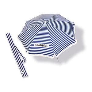 Plážový slunečník Fun Brella Blue Stripes
