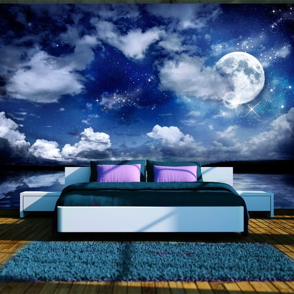 Tapet format mare Bimago Magic Night, 300 x 210 cm