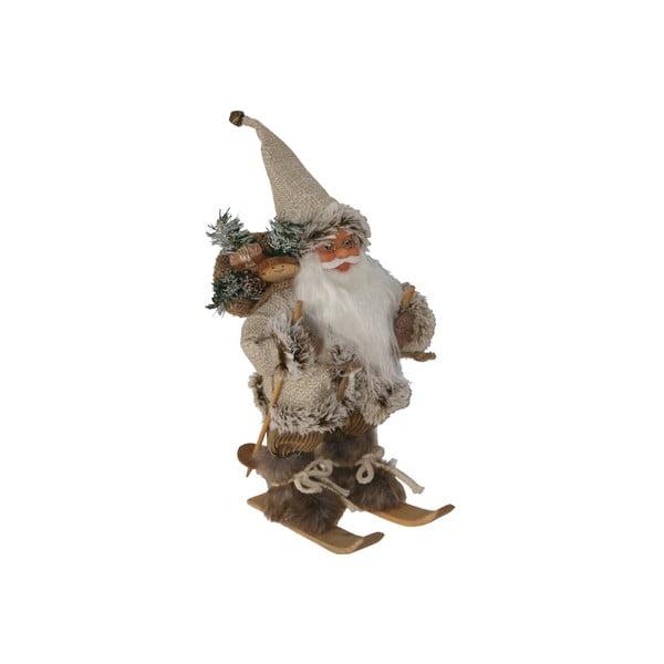 Dekorativní soška Santa Claus on Skis