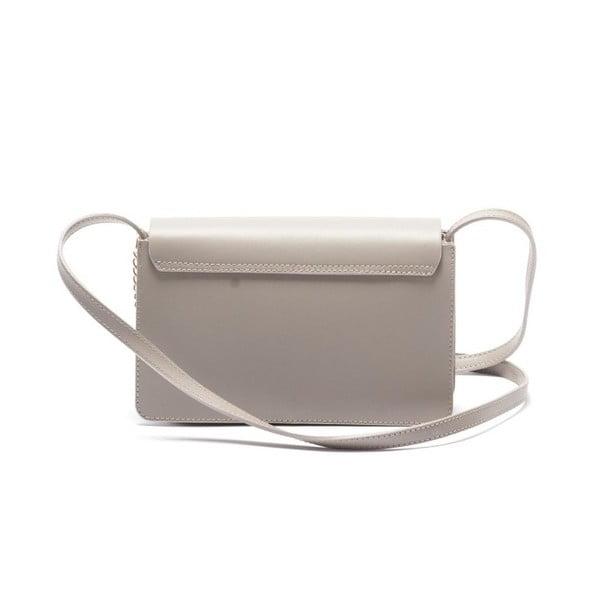 Kožená kabelka Mangotti 3038, kámen