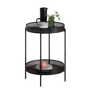 Černý odkládací stolek OK Design Ami