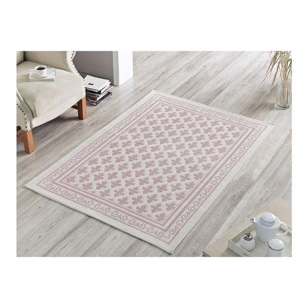 Světle růžový koberec Jamila, 140x200cm