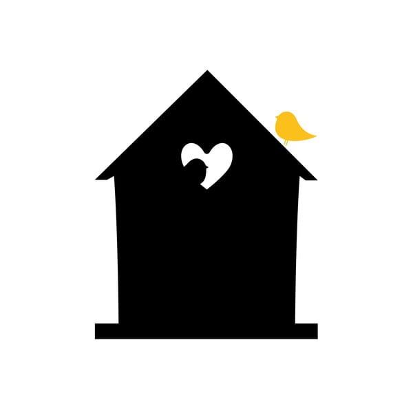 Dekorativní tabulová samolepka Bird Love