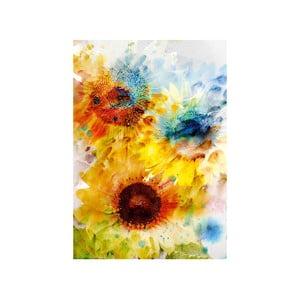Obraz Květy, 100x70 cm