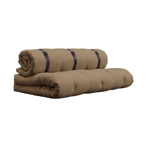 Buckle Up Mocca barna kinyitható kanapé - Karup Design