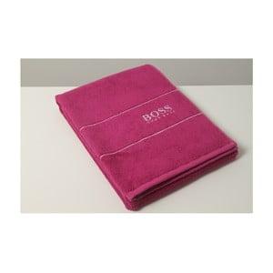 Ručník Hugo Boss Plain 50x100 cm, fialový