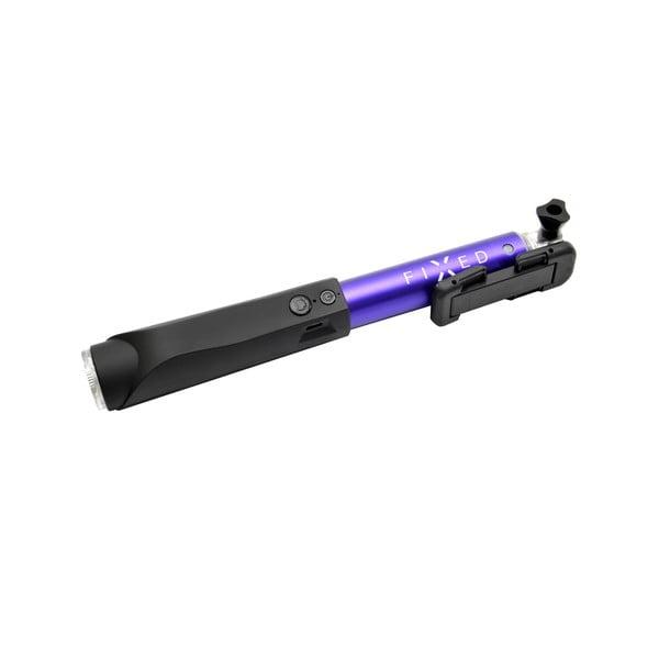 Modrá teleskopická selfie tyč Fixed v luxusním hliníkovém provedení