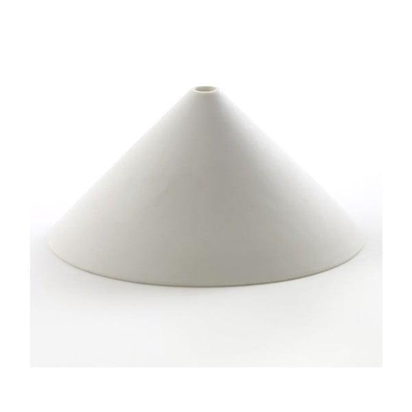 Váza Cone White, 15 cm