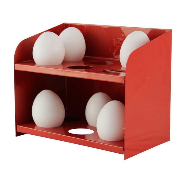 Stojánek na vajíčka, červený