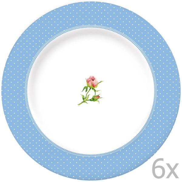 Sada 6 talířů Katie Alice English Garden, 27 cm