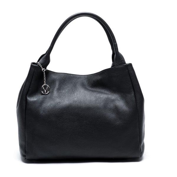 Černá kožená kabelka Mangotti Ulmus