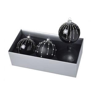 Vánoční ozdoby Dark Ball, 3 ks