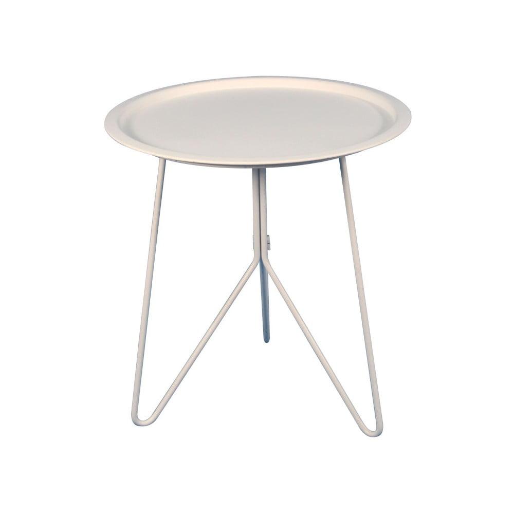 Bílý příruční stolek Red Cartel Jasper