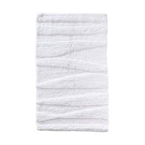 Bílá koupelnová předložka Zone Flow, 50x80cm