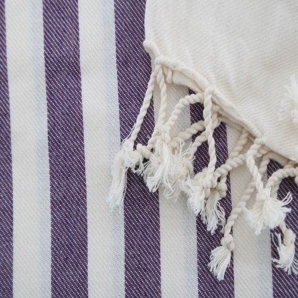 Hammam osuška Fouta Purple, 100x180 cm