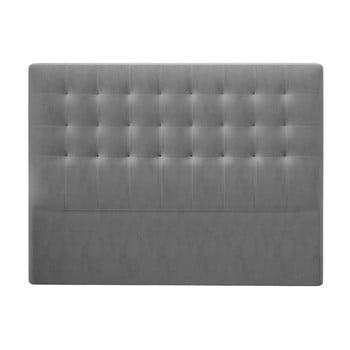 Tăblie pat cu înveliș de catifea Windsor & Co Sofas Athena, 180x120cm, gri de la Windsor & Co Sofas