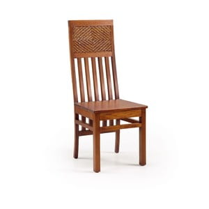 Mahagonová dřevěná židle Moycor Flamingo