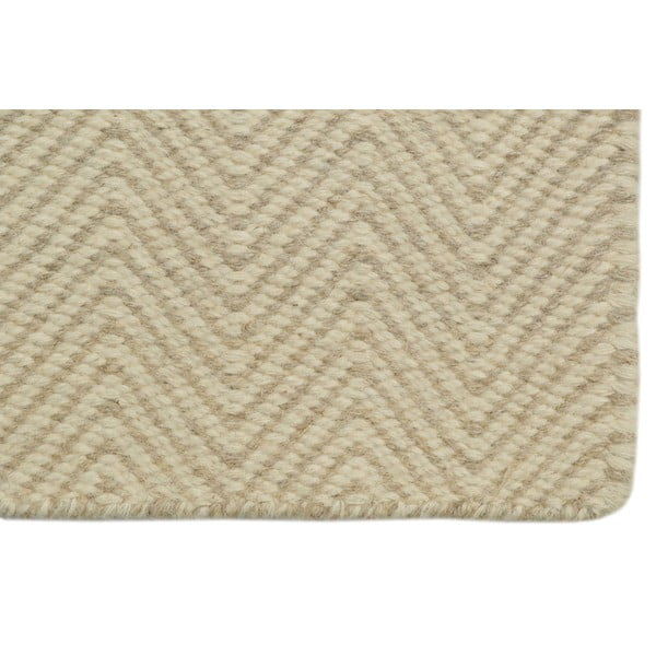 Ručně tkaný koberec Beige Kilim, 160x230 cm
