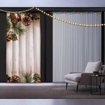 Draperie Crăciun Pine Tree, 140 x 260 cm imagine