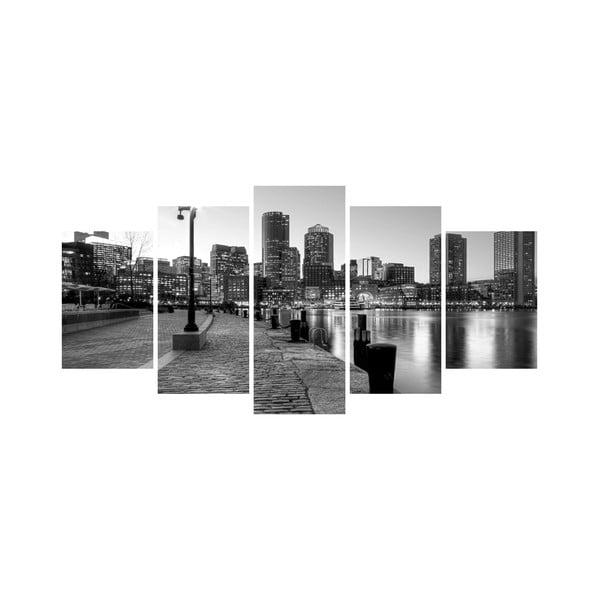 Vícedílný obraz Black&White no. 91, 100x50 cm