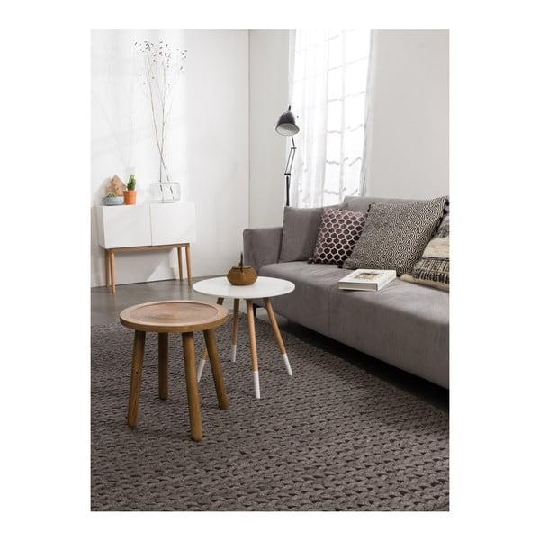 Odkládací stolek z mangového dřeva Zuiver Dendron, Ø60cm