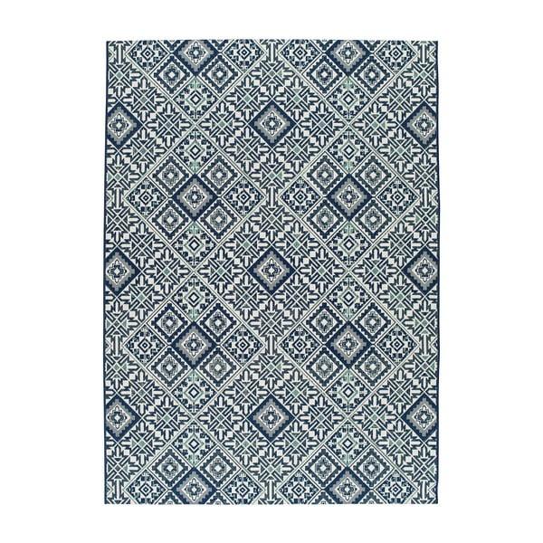 Covor pentru exterior Universal Finland, 150 x 80 cm, albastru