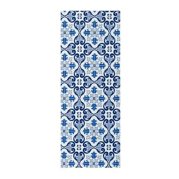 Mery Porto kék futószőnyeg, 52 x 200 cm - Universal