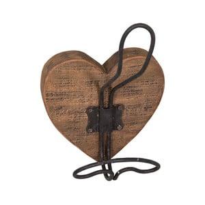 Nástěnný dřevěný háček Antic Line Corazon