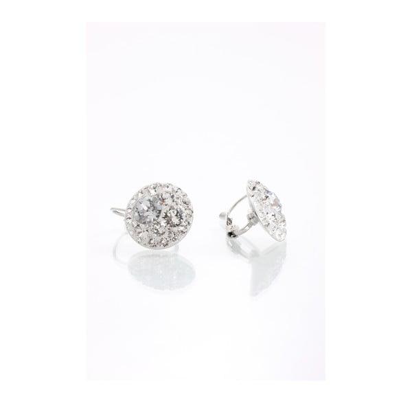 Náušnice Laura Bruni se Swarovski Elements Earrings Crystal