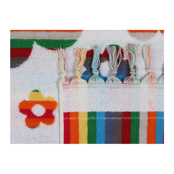 Barevná plážová osuška z bavlny Westwood, 70 x 140