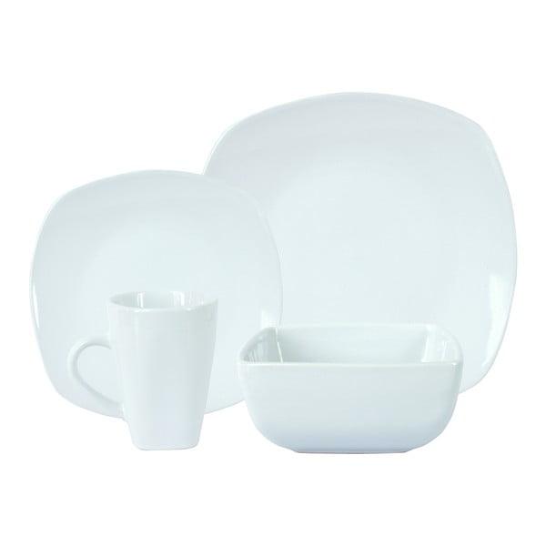 Set 16 ks bílého nádobí Boston